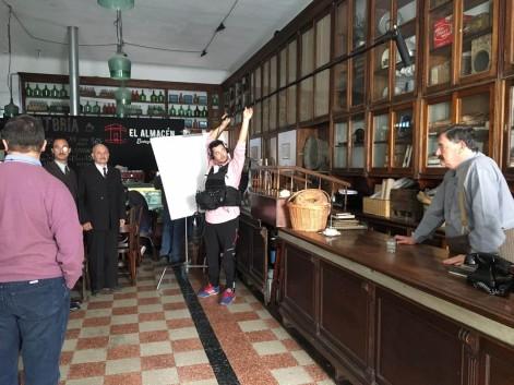 BERAZATEGUI, ESCENARIO DEL DOCUMENTAL SOBRE ARTÉMIDES ZATTI (2)
