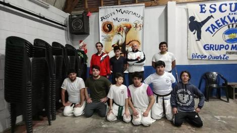 EXPO MARCIAL EN EL POLIDEPORTIVO N° 4 DE VILLA MITRE (1)