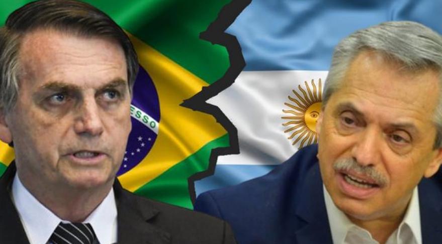 Bolsonaro y Alberto