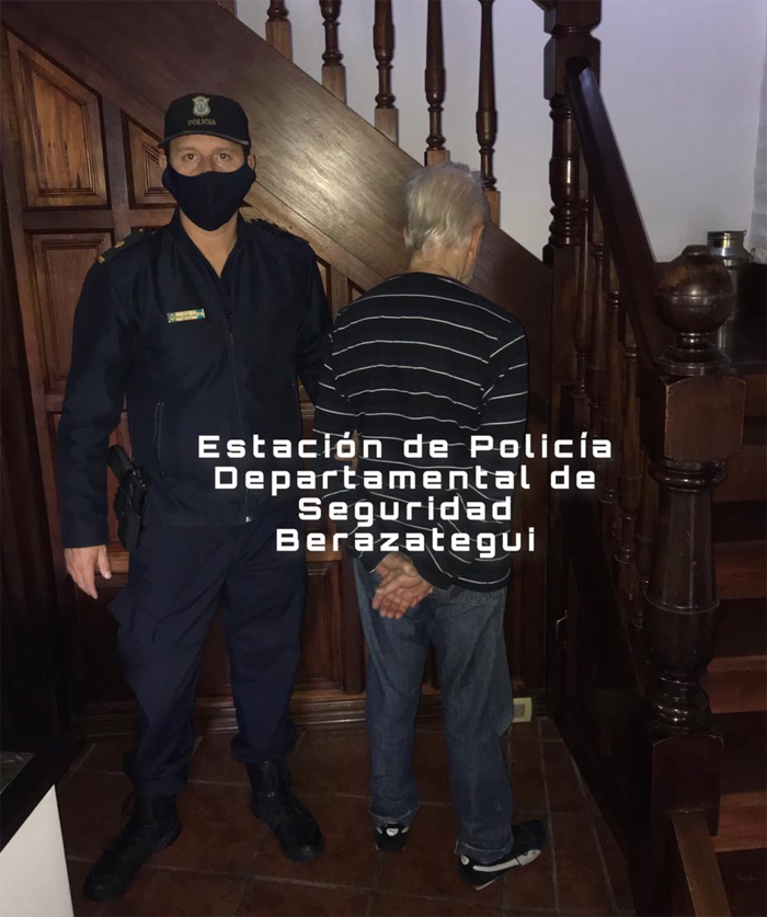 Hugo Franco detenido